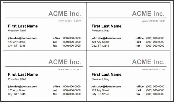 Microsoft Business Card Template Free Luxury 8 Business Card Template Free Free Printable Business Cards Printable Business Cards Free Business Card Templates