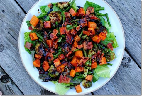 Roasted Veggie Salad | Recipes I Want to Try | Pinterest