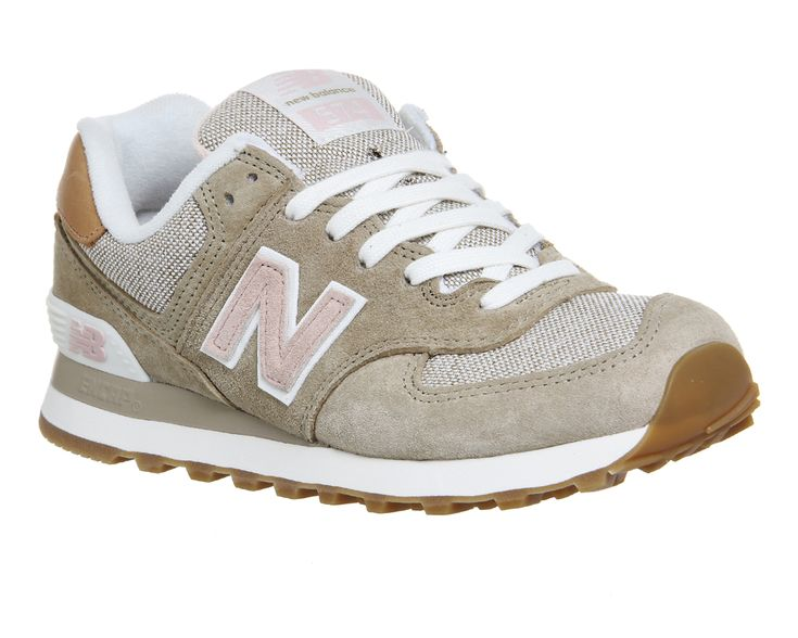 New balance 574 beige rose beach cruiser exclusive trainers shoes