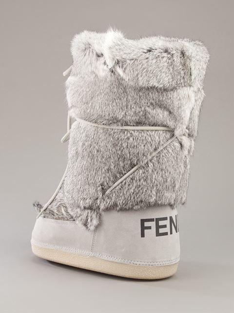 Fendi Fur Moon Boots                                                                                                                                                                                 More