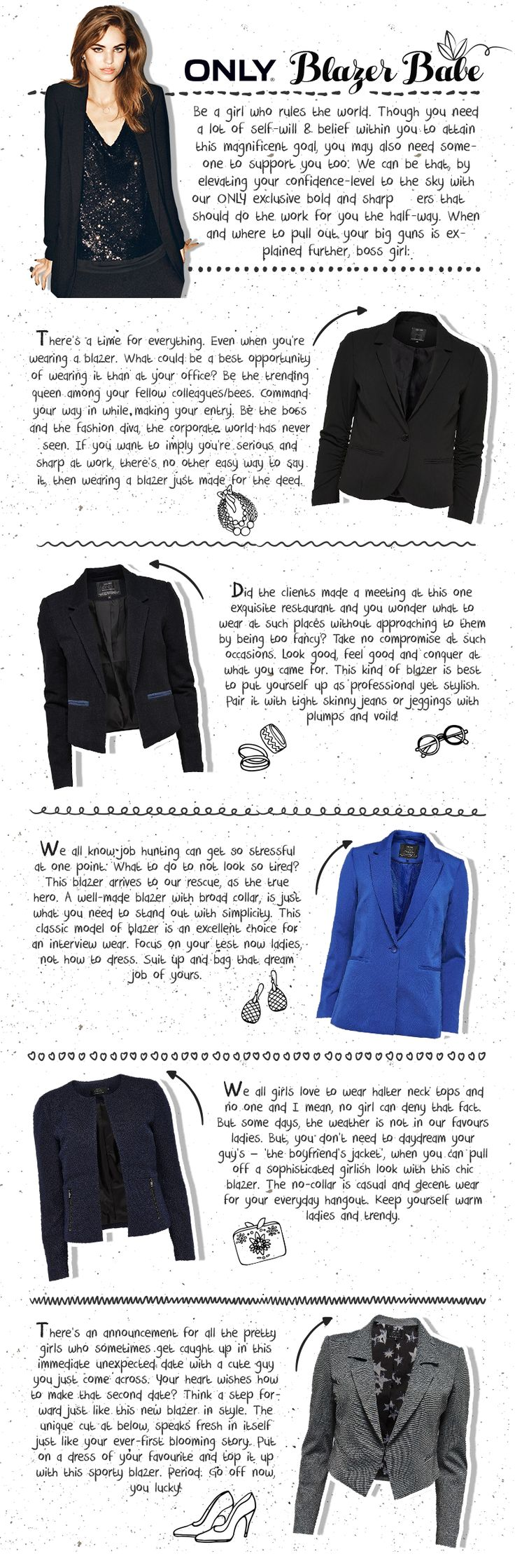 Only Women's Blazer How To Start A Conversation With A Girl