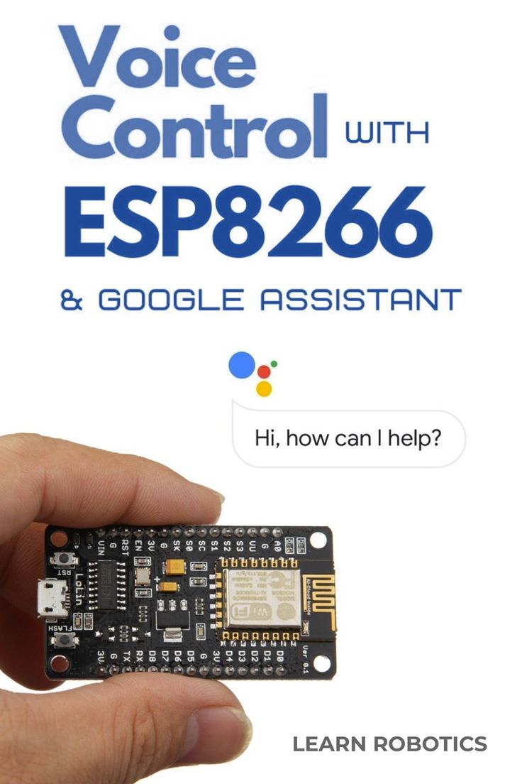 Home Automation using Google Assistant & ESP8266 Iot
