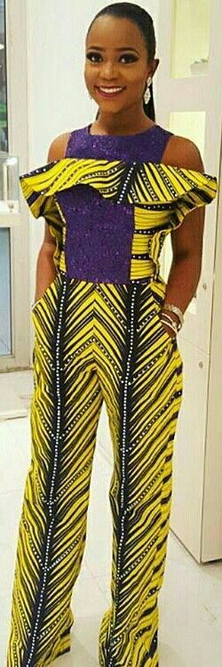 ❣African Print in Fashion  #ankaratasticasoebiafrica @iamnini1 Fabric by @divine_fabrics_designs