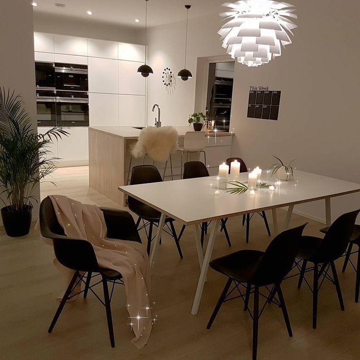 [ G O O D 🌟 N I G H T ] . Der var hverdagen tilbake! Veldig klar for å treffe puten idag 😅 Mandager 🙈 . . . . . . . . . . . #instagram #decoração #decoraçãodeinteriores #insta #instalove #interior125 #interiordesign #whiteinterior #interiorforinspo  #interior9508 #charminghomes #interiorwarrior #interior123 #passion4inspo #inspire_me_home_decor #dream_interiors #eleganceroom #ourluxuryhome #kitcheninspo #kitchen #kitchendesign #kjøkken #kjøkkeninpirasjon #kvik  #kvikmano #interior444…
