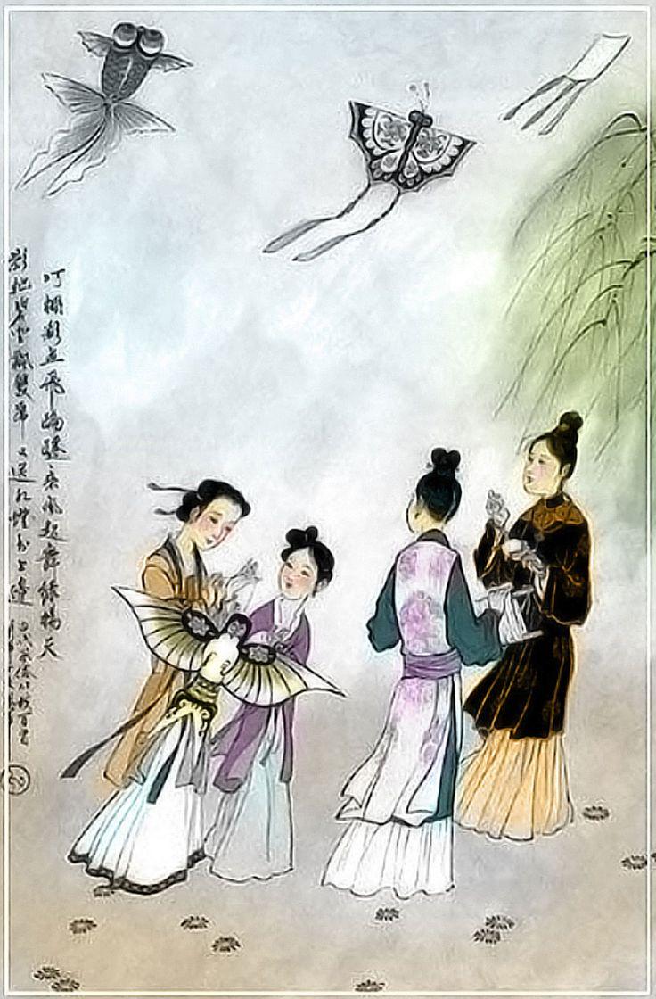 Historia de las cometas chinas