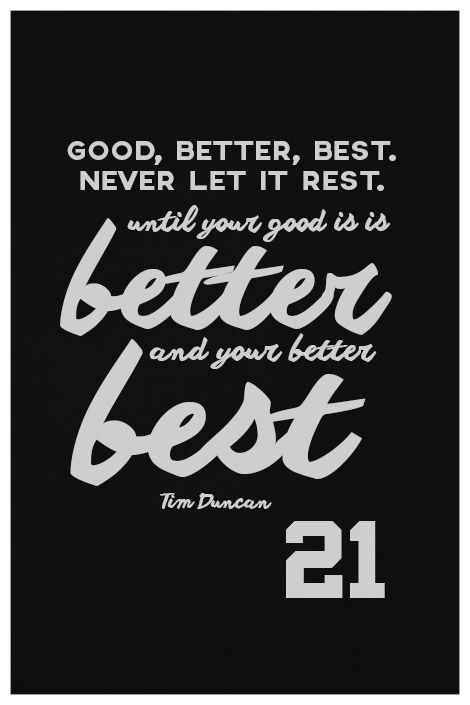 ''Tim Duncan Quote on Print. See more at www.finesportsprints.com #duncan #sportsquote #spurs''