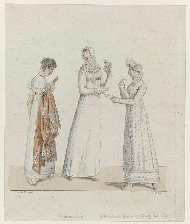 Allgemeine Moden-Zeitung, 1809, No. 34, anoniem, 1809