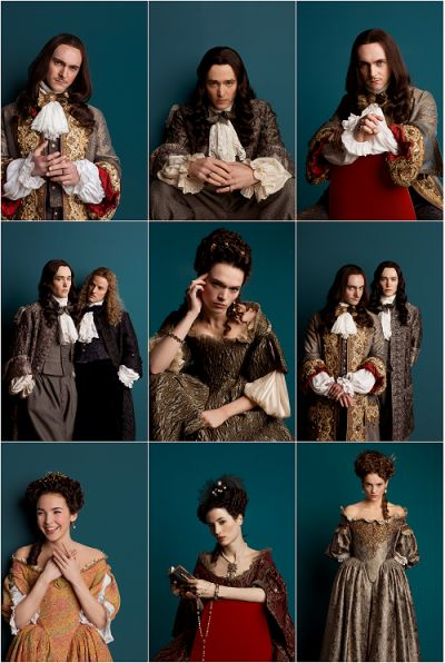 The brilliant cast of the hit Canal+ series Versailles