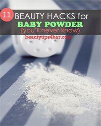 Thumbnail image for toevoegen babypoeder aan uw schoonheid Routine - 11 Spannende babypoeder Beauty Hacks