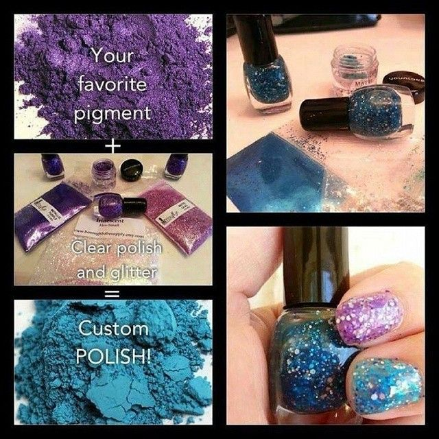 Use our pigments to create your Younique nail polish!!! Our versatile pigments can be used for all sorts of things.  Nail polish  is just one of those things you can make with our pigment colors.  Shop today at WWW.LASHMIRACLE.ORG