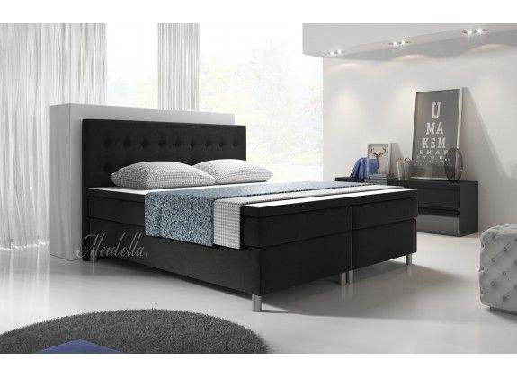 Boxspring Batavia is zeer compleet, heeft een modern landelijke uitstraling en staat garant voor een comfortabele nachtrust. Dit model beschikt over een hoofdbord, box met stevige poten, bonellveringmatras en topdekmatras. De gehele boxspring is bekleed met een sterke stof in een zwarte kleur. Deze is beschikbaar in 140x200 / 160x200 / 180x200 / 200x200