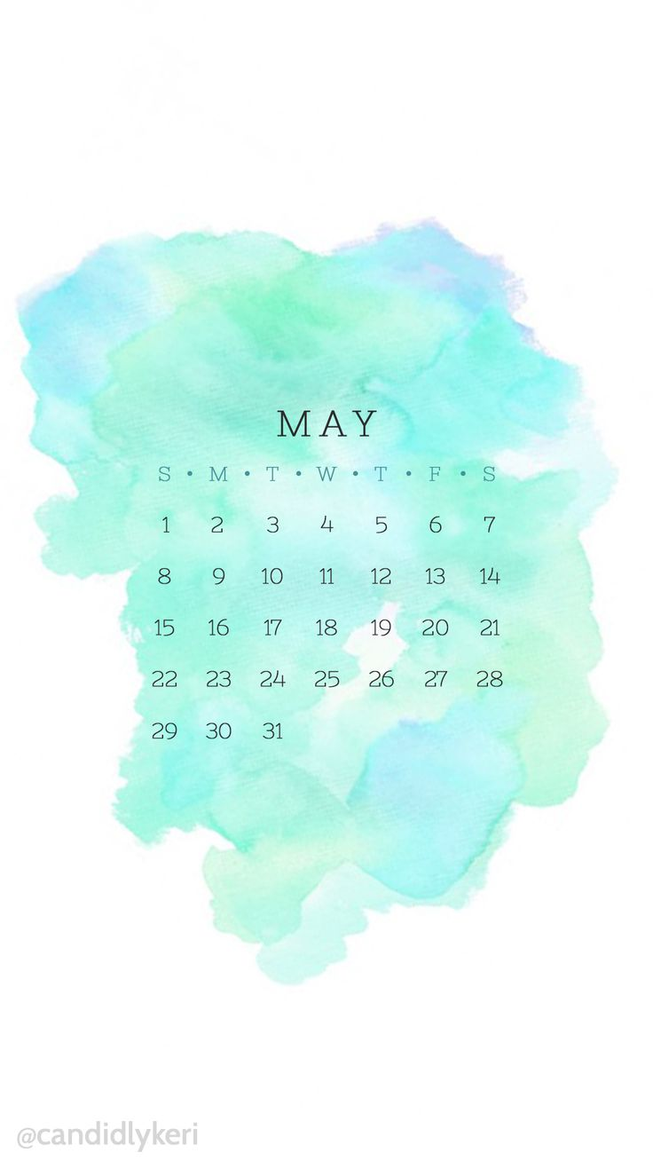 pinterest: @jaidyngrace Blue turquoise and green may 2016 calendar wallpaper free download for iPhone android or desktop background on the blog!