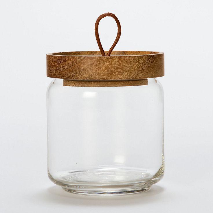 Teak Honey Jar in House+Home KITCHEN+DINING Kitchen Kitchen Storage at Terrain