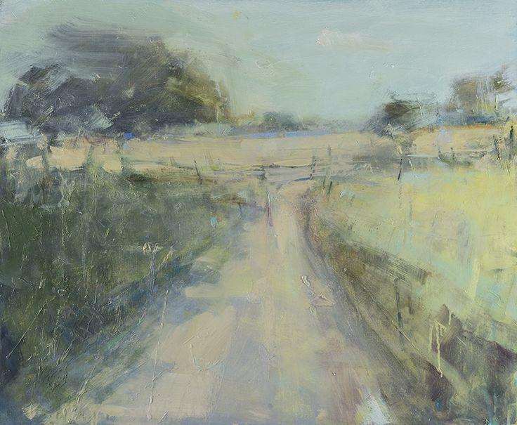 Hannah Woodman, 'Summer Walk, Nr Mawnan' 2014 Oil on board 70 x 85 cm