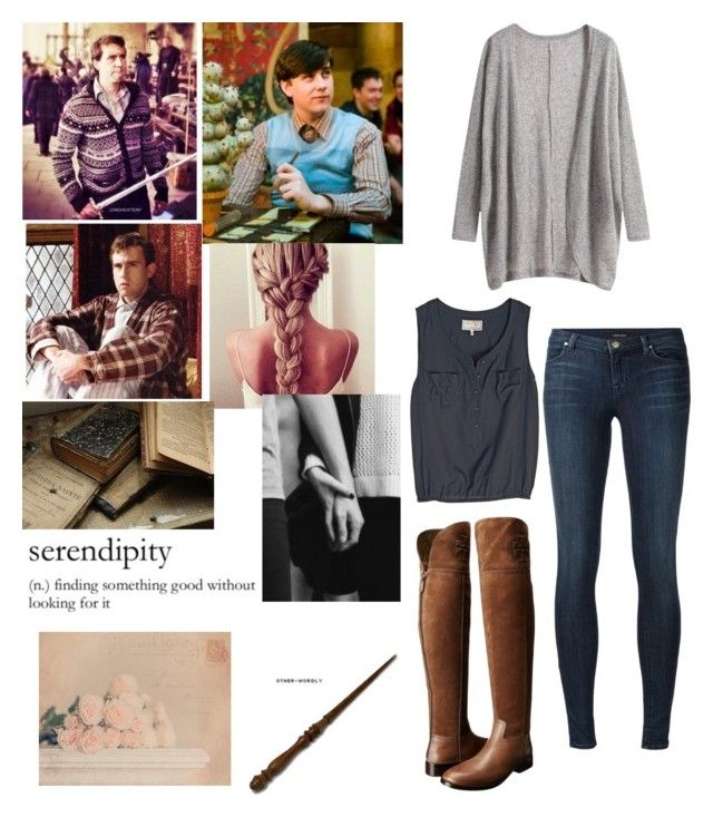 """""""Untitled #158"""" by alisa-avery ❤ liked on Polyvore featuring Neville, J Brand, Tory Burch and WALL"""