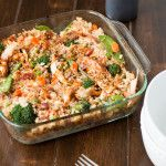Teriyaki Chicken Casserole- this includes a recipe to make homemade teriyaki sauce!