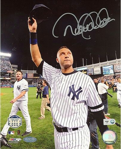 Derek Jeter autograph goes around a hundred dollars