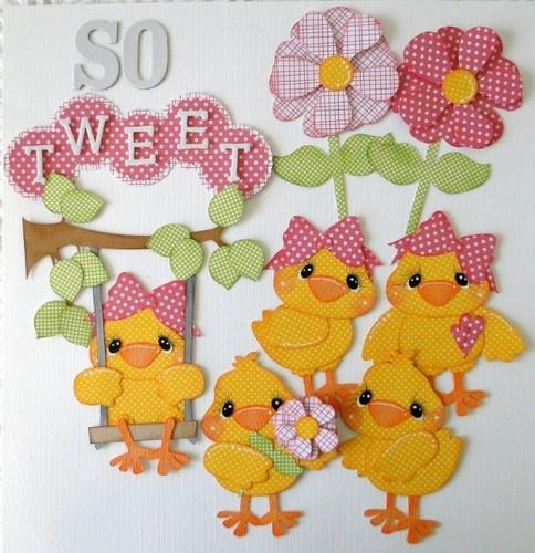 ELITE4U So Tweet Scrapbooking Pre Made Paper Piecing Album DANDERSON651 | eBay