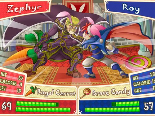 Fire Emblem: Binding Blade - Zephiel vs. Roy