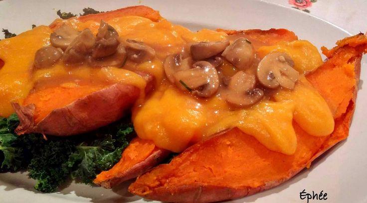 L'éphémère quotidienneté des repas et autres trucs de magie: Patates douces et tacos
