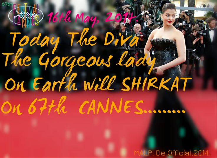 Today the Diva on Floor 16.05.2014 CANNES