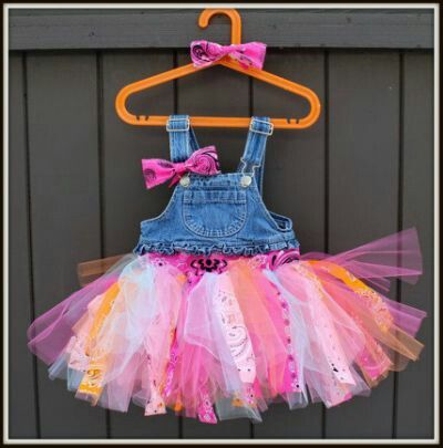 Overalls and a tutu! Don't get much better than that!