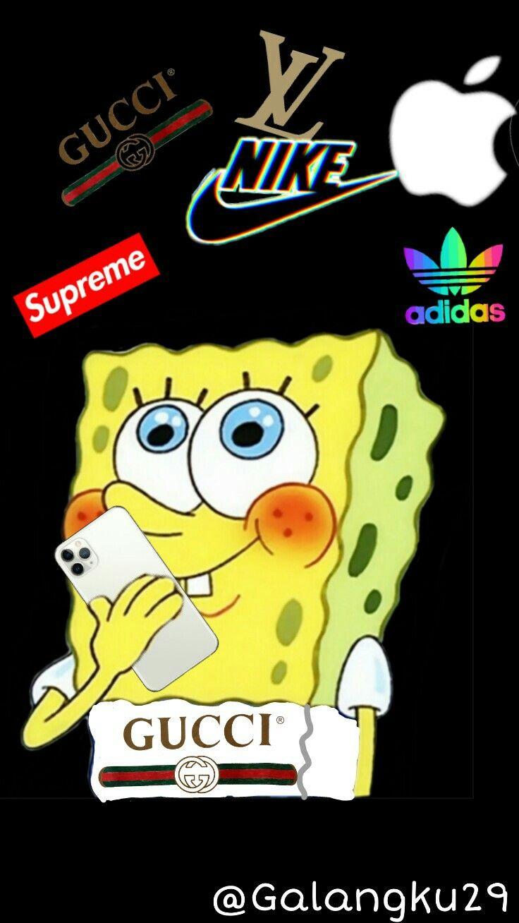 Rich Spongebob Spongebob Gucci Nike Gucci
