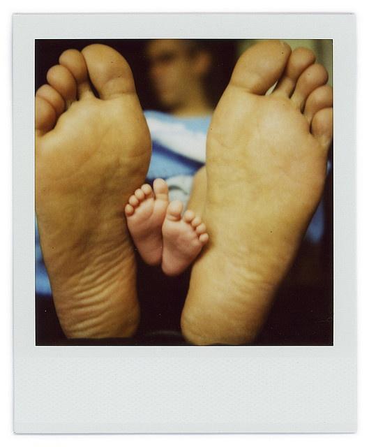 Baby feet make me smile