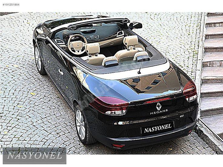Renault Megane 1.5 dCi Impressor 2012 MAGANE CABRIO 1.5 DCI 4.451 KM'DE NASYONEL'DEN