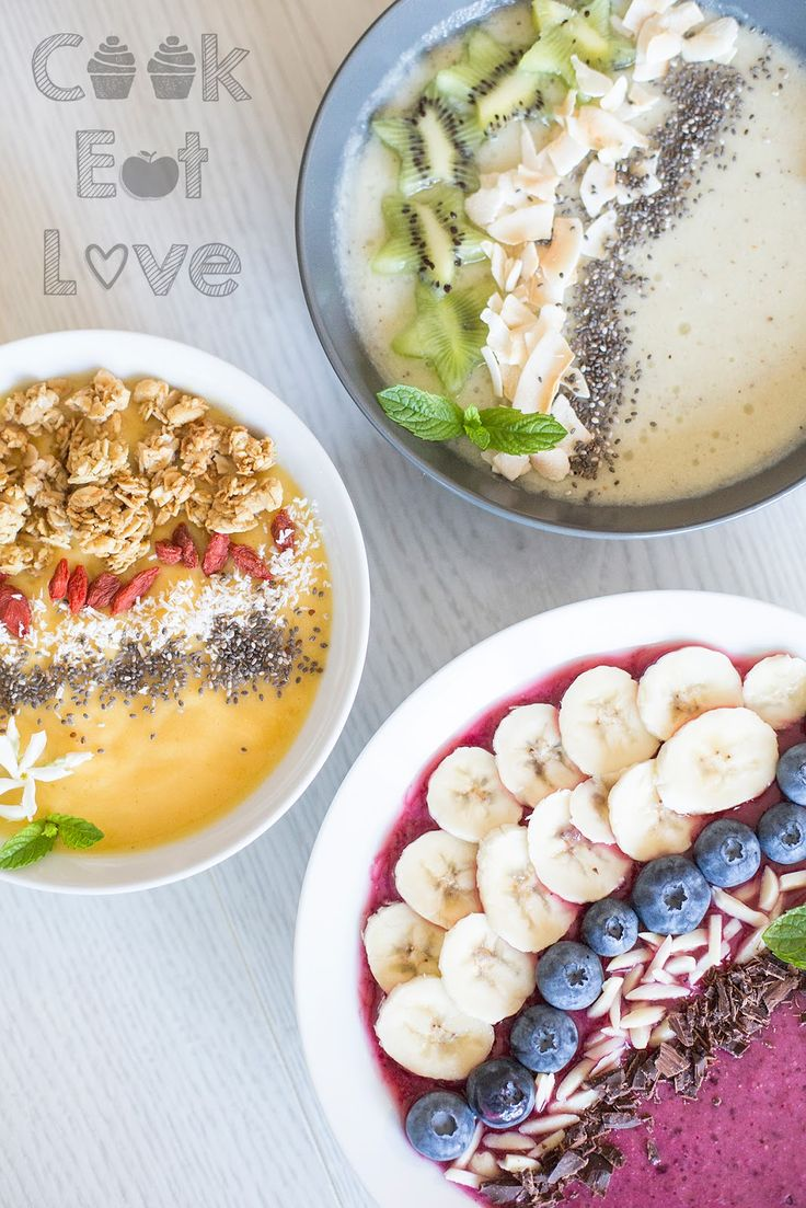 Smoothie Bowls - Cook Eat Love