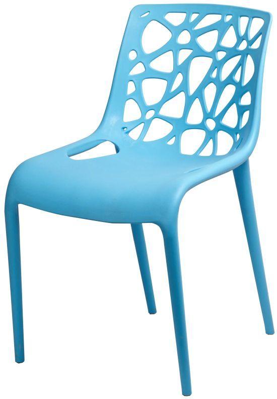 Стул Корал синий пластик стулья и кресла из пластика пластиковые стулья 4ugla.com.ua