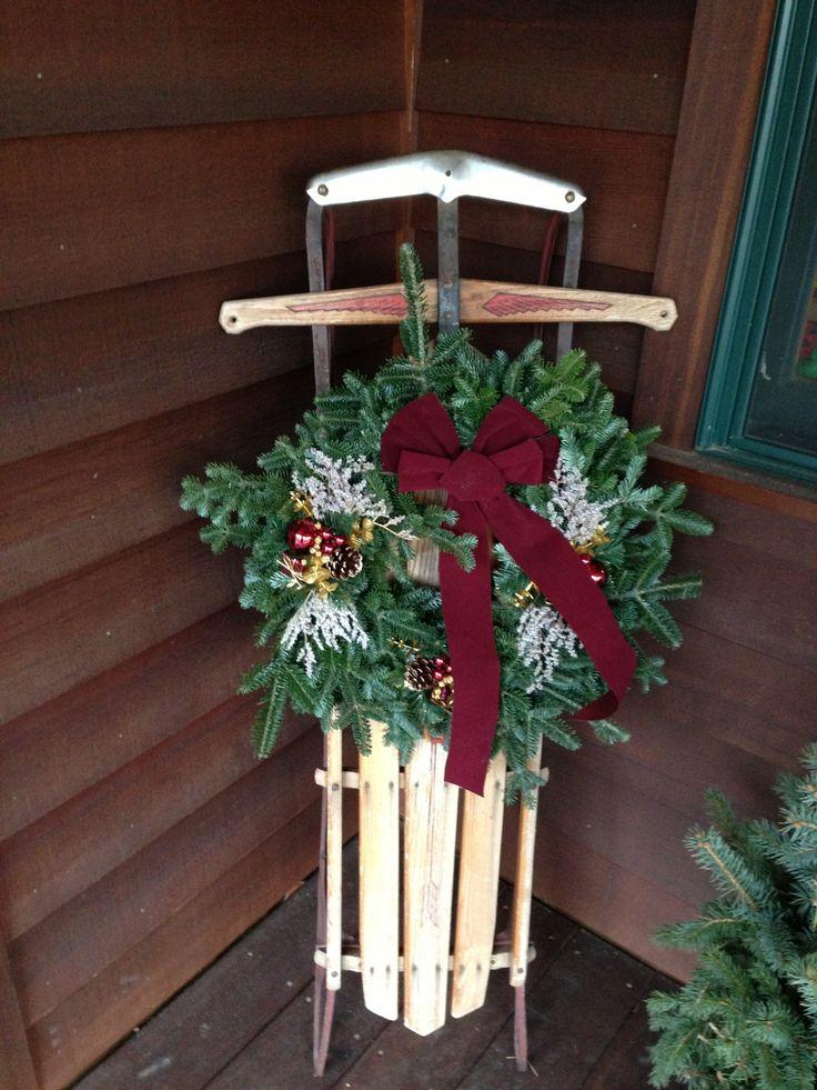 37 besten Sleds Bilder auf Pinterest   Weihnachtsdekoration, La la ...