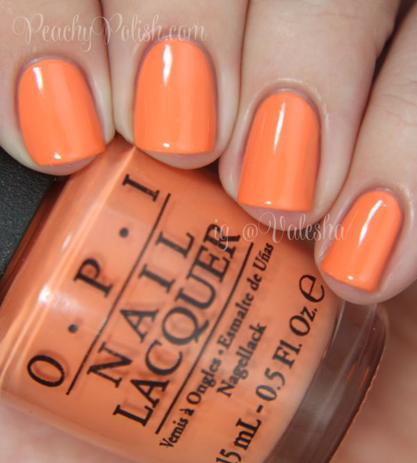 OPI: Spring/Summer 2014 Brazil Collection Swatches and Review Where Did Suzi's Man-go