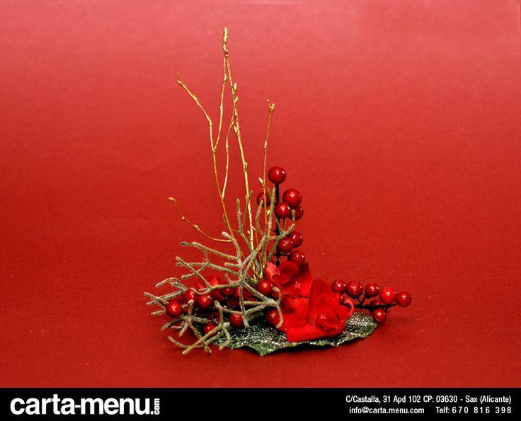 Centro de mesa Carta-menu.com