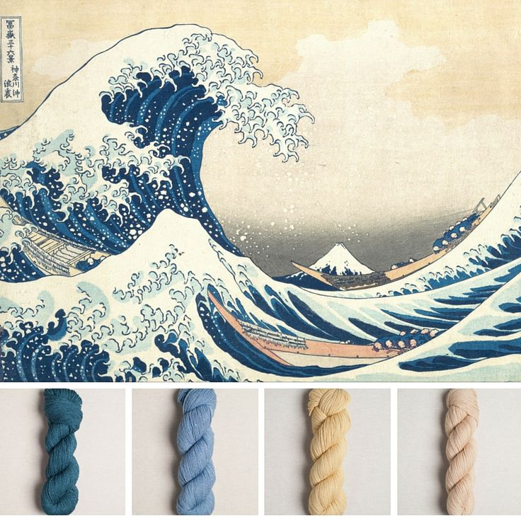 Hokusai, the great wave and quince and co tern