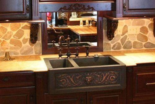 stabile küchen spüle mit unterschrank klassisch massiv