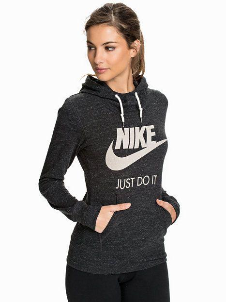 Nike Gym Vintage Hoody - Nike - Svart - Gensere - Klær - Kvinne - Nelly.com