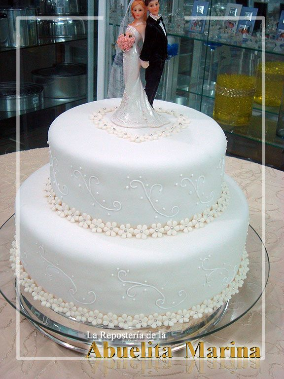 M s de 25 ideas incre bles sobre tortas de casamiento en for Tortas decoradas sencillas