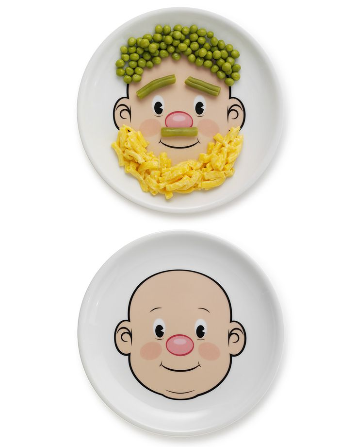 Fun Plate for Kids, Wooly Willy | UncommonGoods: Gift, Idea, Plates, Faces, Food Face, Fun, Kid