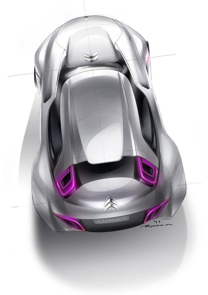 Car Sketch Render.