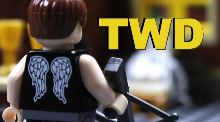 A 'Walking Dead' LEGO Animated Short in Which Daryl Dixon Investigates Smoke in the Forest