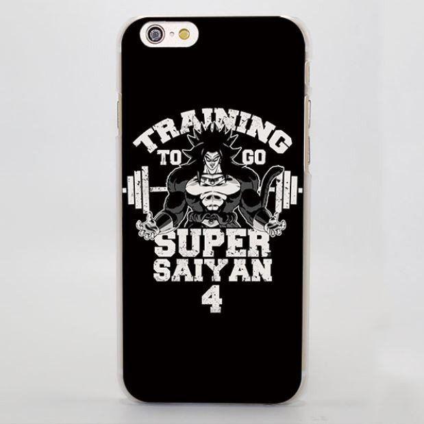 Training to Go Super Saiyan 4 Broly Hard iPhone 4 5 6 7 Plus Case  #TrainingtoGo #SuperSaiyan #4Broly #HardiPhone7PlusCase