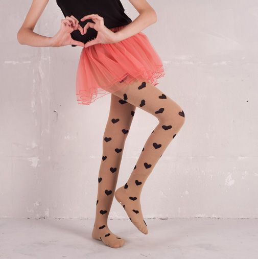 We're loving these cool tights for girls all the way from across the pond. How can you say no to mustaches?