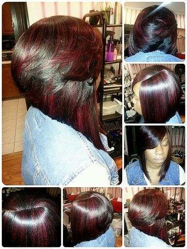 Amazing 1000 Images About Short Weave Hairstyle On Pinterest Bobs Short Hairstyles For Black Women Fulllsitofus
