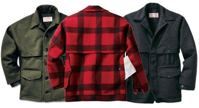 Filson Double Mackinaw Cruiser Wool Jacket - Canadian Outdoor Equipment Co.