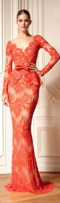 Zuhair Murad ~ would be beautiful as a wedding dress (in a different colour of course)