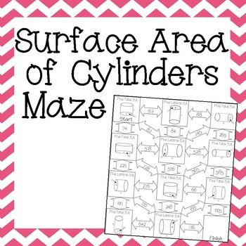 This looks like a fun way to review surface area of cylinders with my 8th grade math & geometry students!