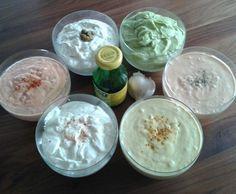 Rezept Lieblings-Fondue- oder Raclettesoßen von Queen-of-Castle - Rezept der Kategorie Saucen/Dips/Brotaufstriche