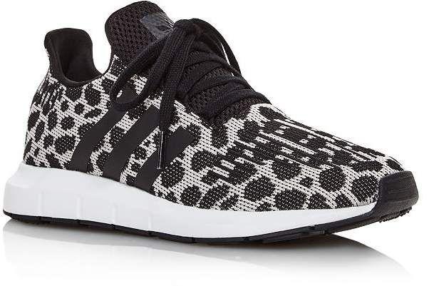 women's swift run knit lace up sneakers