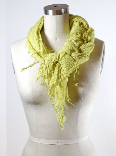 Scarf Tying How-To's | Scarves....braided scarf